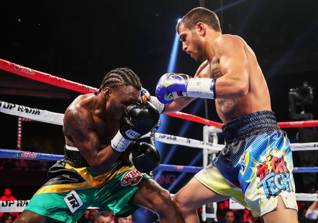 Vasyliy Lomachenko and Nicholas Walters go head to head for the WBO Super Featherweight title at THE CHELSEA, inside The Cosmopolitan of Las Vegas, Nevada.